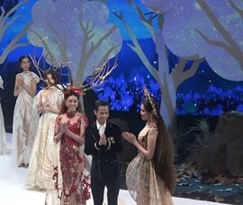 Khánh Vân lan tỏa thông điệp bảo vệ rừng qua thời trang