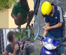 Video: Cận cảnh tiêm ma túy ở chốn đông người tại TP.HCM