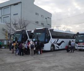 Video: 79 chuyến xe miễn phí đưa công nhân về quê đón Tết