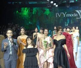 Minh Tú, Hoàng Thùy diễn vedette show thời trang Flourish 18