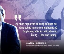 Đại sứ Phạm Quang Vinh bình luận kết quả chuyến thăm Việt Nam của bà Harris