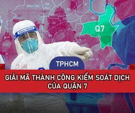 TP.HCM: Giải mã thành công kiểm soát dịch của Quận 7