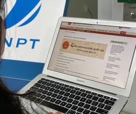 VNPT PAY cung cấp thanh toán trên Cổng Dịch vụ công Quốc gia