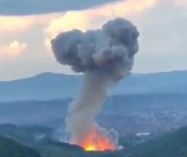 Video: Nhà máy sản xuất đạn ở Serbia tiếp tục bị nổ, ít nhất 3 người bị thương