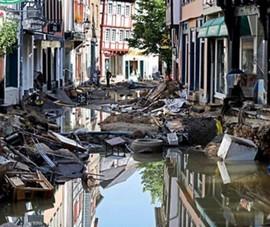 Đức, Bỉ hứng thảm họa lũ lụt kinh hoàng với 188 người chết