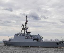 Tàu chiến Iran từng khiến Mỹ, Anh lo lắng tham gia diễu binh ở Nga