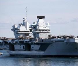 Nhóm tác chiến tàu sân bay HMS Queen Elizabeth của Anh đến Biển Đông