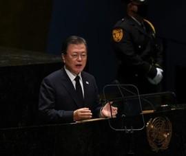 Họp Đại Hội đồng LHQ, ông Moon đề xuất tuyên bố chấm dứt chiến tranh Triều Tiên