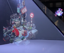 Triển lãm 'Sài Gòn 3 mét vuông' bằng mô hình 3D