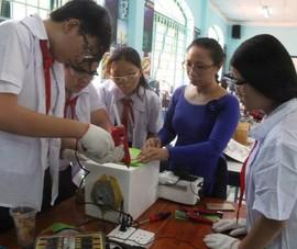 Trường học đầu tiên ở TP.HCM có phòng thực hành STEM