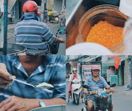"""Video: """"Ông ngoại"""" 94 tuổi bán kẹo bông gòn"""