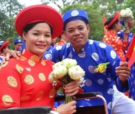 Nhộn nhịp lễ cưới của 100 đôi uyên ương trong ngày Quốc khánh