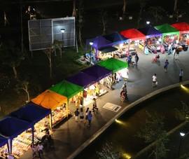 Video: Chợ đêm sinh viên mới ở làng Đại học Quốc gia TP.HCM