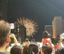 Dân Sài Gòn háo hức đón chào thời khắc giao thừa Canh Tý 2020