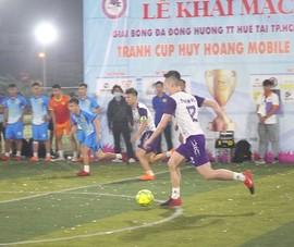 Dàn tuyển thủ Futsal VN dự Giải bóng đá đồng hương Huế