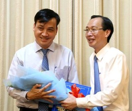 Ông Lê Hòa Bình làm Giám đốc Sở Xây dựng TP.HCM