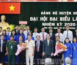 Ông Trần Văn Khuyên tái đắc cử Bí thư Huyện ủy huyện Hóc Môn