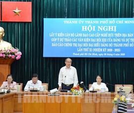 Thư cảm ơn Nhân dân của Ban Chấp hành Đảng bộ TP.HCM