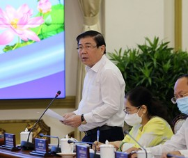 TP.HCM kiến nghị nhiều vấn đề tại buổi làm việc với Thủ tướng