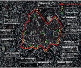 Phong tỏa thêm nhiều khu vực ở huyện Hóc Môn từ 0 giờ ngày 30-6