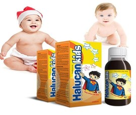 Cẩn trọng khi mua sản phẩm Siro Halucan Kids trên Shopee