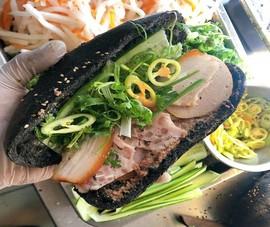 Bánh mì 'bóng đêm' gây sốt ở Sài Gòn có gì đặc biệt?