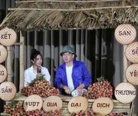 Nghệ sĩ Xuân Bắc bán được gần 90 tấn mận, vải...cho nông dân