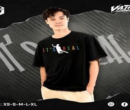 Sốt mẫu áo thun lấy cảm hứng từ cú ngã của 'chủ tịch' Văn Toàn