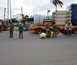 Bình Thuận: Nữ sinh bị xe đầu kéo cán tử vong khi đang đi học
