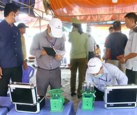 Thu 6 chiếc cân gian bán hải sản ở Làng chài Mũi Né
