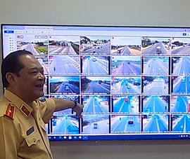Có bao nhiêu tuyến đường gắn camera giám sát trên QL1A?