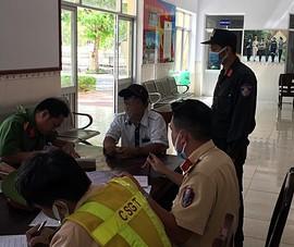 CSGT Bình Thuận phát hiện lái xe taxi sử dụng ma túy