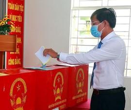 Bình Thuận: 820 điểm bỏ phiếu đảm bảo an toàn chống dịch