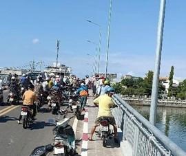 Bình Thuận: Tìm kiếm thanh niên nhảy cầu ở sông Cà Ty