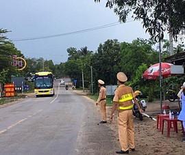 Bình Thuận thành lập 2 chốt kiểm soát COVID-19 trên QL1A