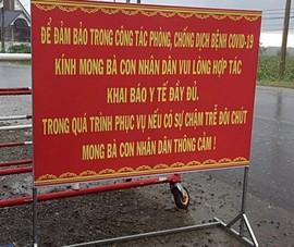 Thông báo đến người dân Bình Thuận đang sống tại các tỉnh thành có dịch