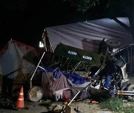 Cả gia đình 5 người về quê bằng xe ba gác gặp tai nạn thương tâm