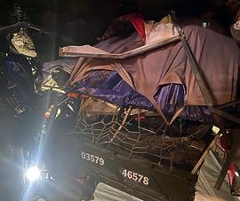 Bình Thuận hỗ trợ khẩn cấp cho gia đình đi xe ba gác về quê gặp nạn