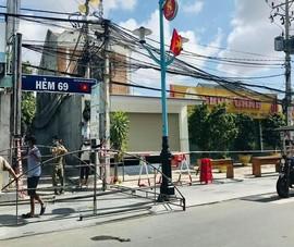 Bình Thuận: Phong tỏa một con hẻm ở Phan Thiết có nhiều ca nghi nhiễm COVID-19