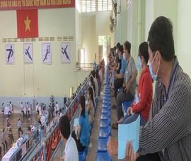Thông báo khẩn tìm người tiêm vaccine tại Nhà Thi đấu tỉnh Bình Thuận