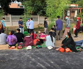 Bình Thuận bố trí xe, đoàn công tác đưa 65 người mất việc về Nghệ An