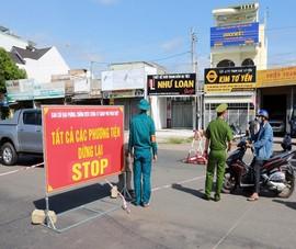 Từ 0g ngày 12-9 muốn vào thành phố Phan Thiết phải có xét nghiệm âm tính