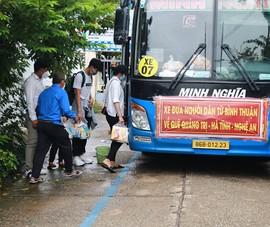 Đưa 15 người trốn trong thùng xe đông lạnh về Quảng Trị, Hà Tĩnh, Nghệ An