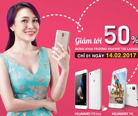 Huawei mở gian hàng bán lẻ trên Lazada ngày Valentine
