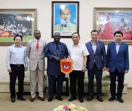 Bóng đá Việt Nam sắp được đá giao hữu với nhà vô địch Olympic