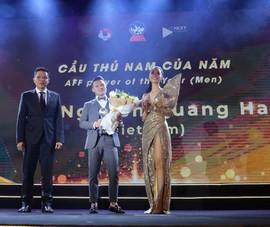 Thầy Park, Quang Hải và đội tuyển nam VN thắng AFF Awards 2019