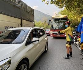 Kẹt xe ở đèo Bảo Lộc, chặng cuối Cúp Truyền hình chưa thể đua
