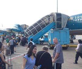 Số chuyến bay Vietnam Airlines tăng đột biến