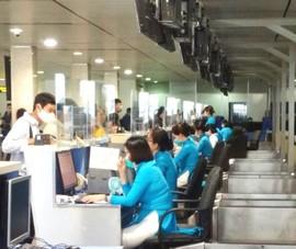 Sân bay Tân Sơn Nhất lắp vách ngăn giọt bắn