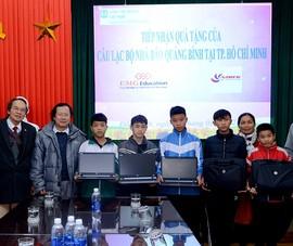 Trao 10 máy tính cho Làng trẻ em SOS Đồng Hới